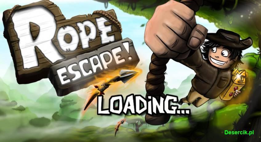 Rope Escape (Android): Poradnik o monetach i tym jak zajść najdalej w grze