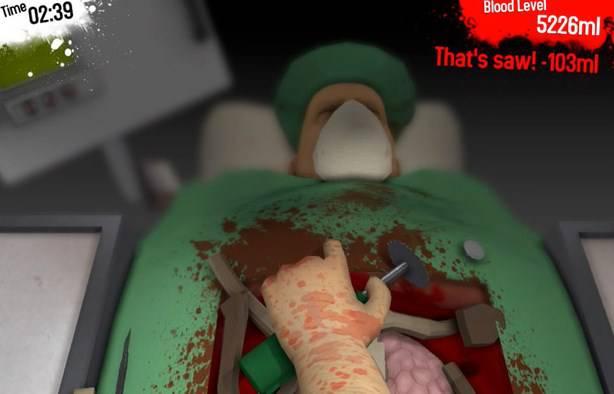 Surgeon Simulator, czyli Symulator pracy chirurga na Androida