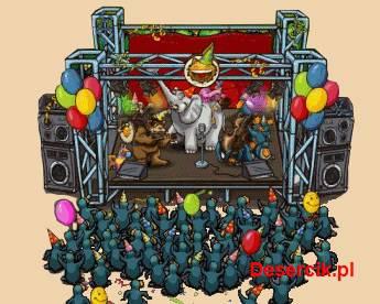 Balony i torty z okazji czwartych urodzin ZooMumba