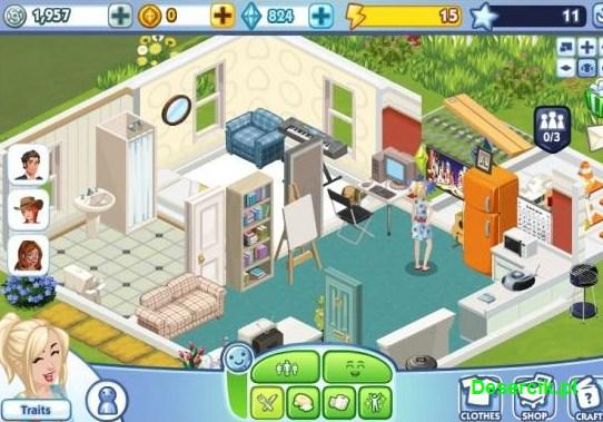 The Sims Social 001
