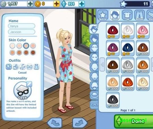 The Sims Social 002