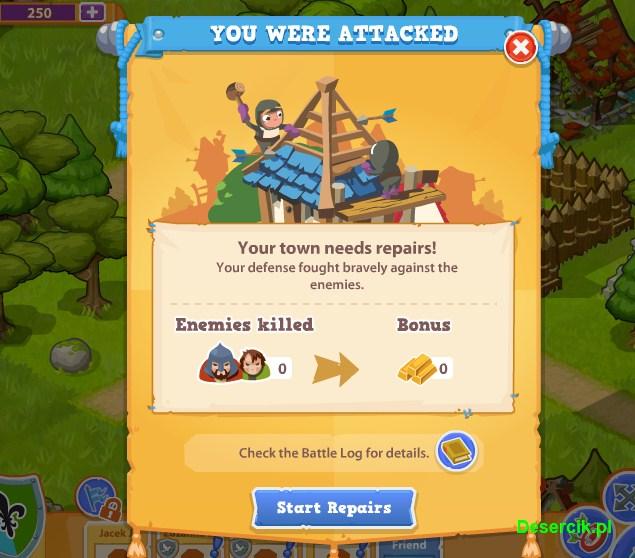 atak na wioskę
