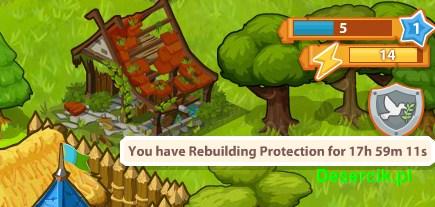 ochrona miasta po ataku