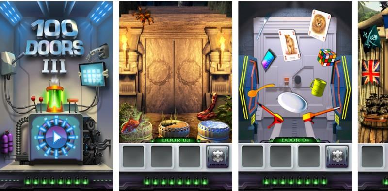 100 Doors 3 – rozwiąż zagadki i otwieraj kolejne pokoje