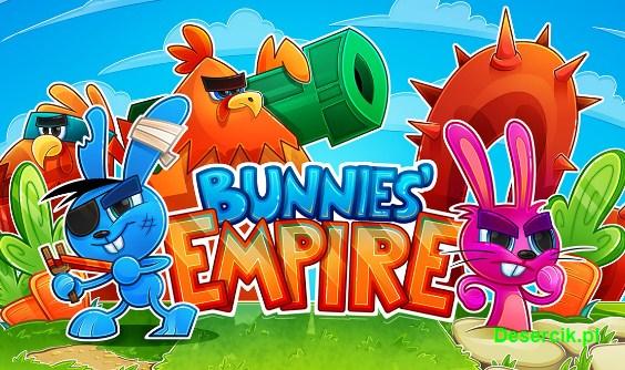 Bunnies Empire – broń ogrodów przed lisami na Androidzie