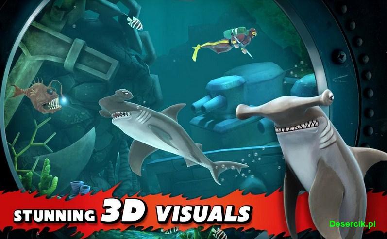 Hungry Shark Evolution: Lista misji dla wszystkich rekinów