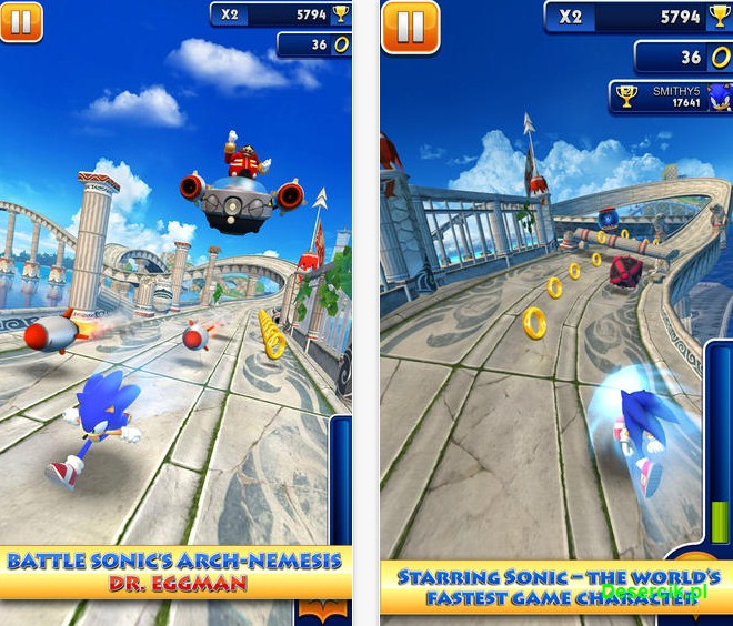 Sonic Dash 002