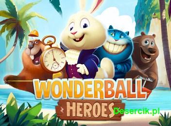 WonderBall Heroes – pomóż królikowi trafić do Krainy Czarów