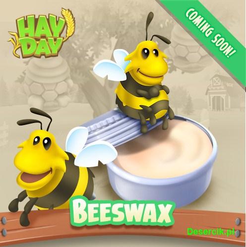 Hay Day: Pszczoły, miód i wosk pszczeli