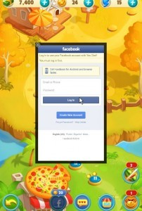 połączenie z Facebookiem