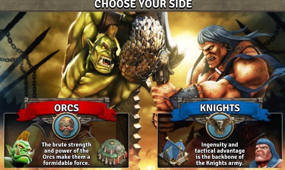 Wybierz rasę, zagraj orkami albo rycerzami