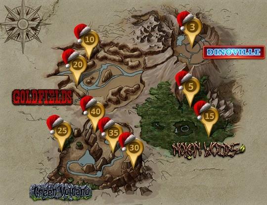 Święta w Dino Storm