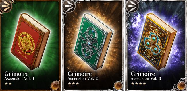 Grimoires (Niezrozumiałe Księgi)