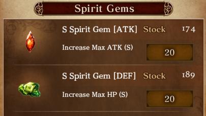 Duchowych Gemów (Spirit Gems)