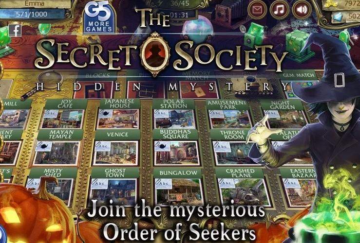 The Secret Society Hidden Mystery – zostań członkiem Zakonu Poszukiwaczy