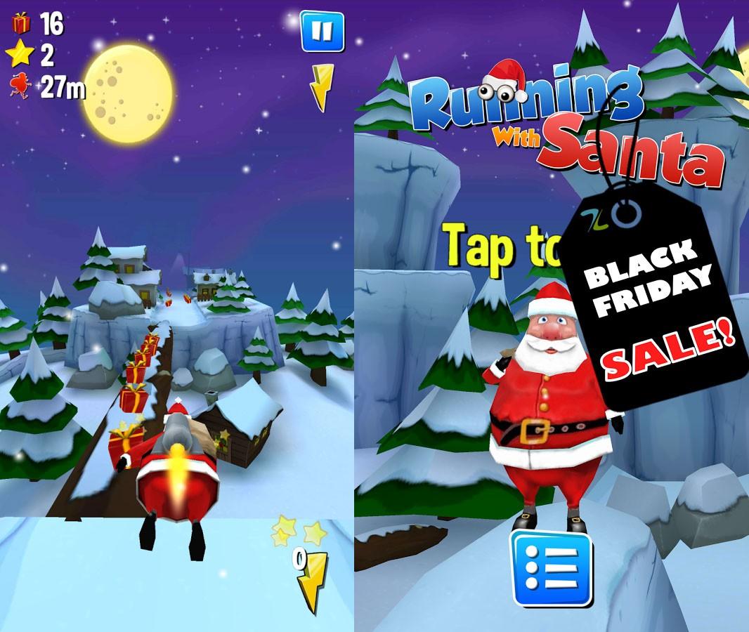 Running With Santa – Mikoła zgubił wszystkie prezenty?