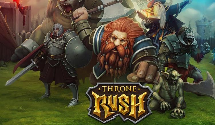 Throne Rush: Plądrowanie surowców, główne zasady