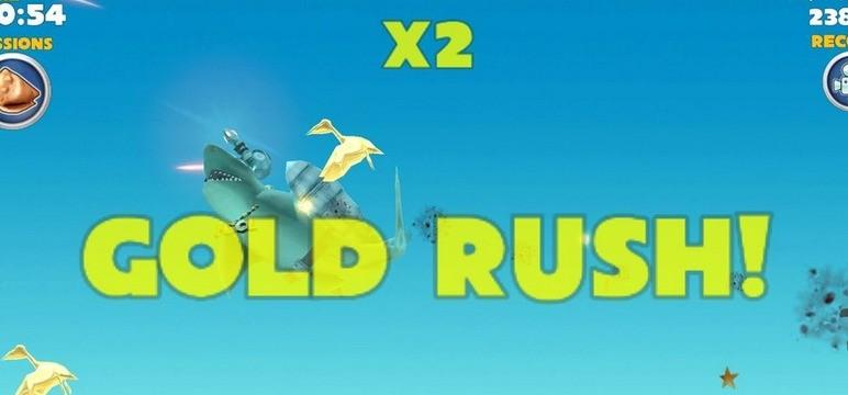 Gold Rush w Hungry Shark Evolution