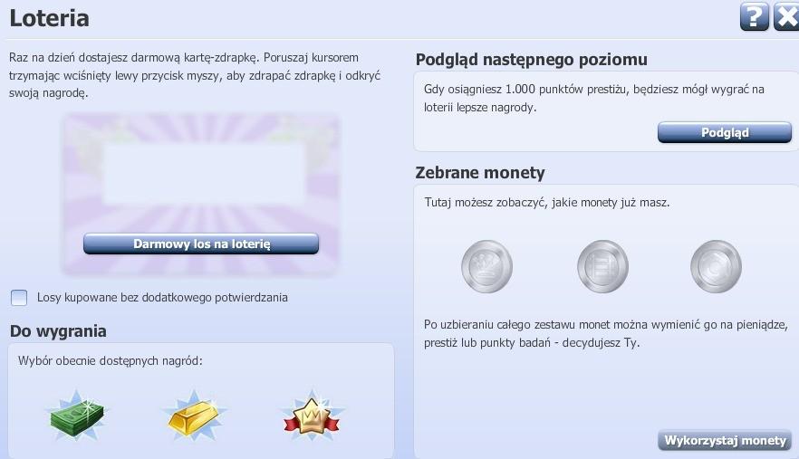 Loteria i losy na loterię