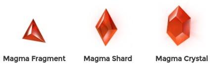 Kamienie Mocy Magma
