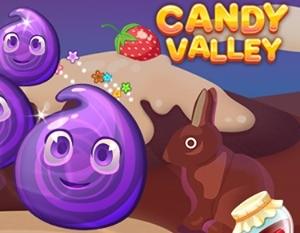 Candy Valley – dopasuj słodkości i zbieraj przepisy