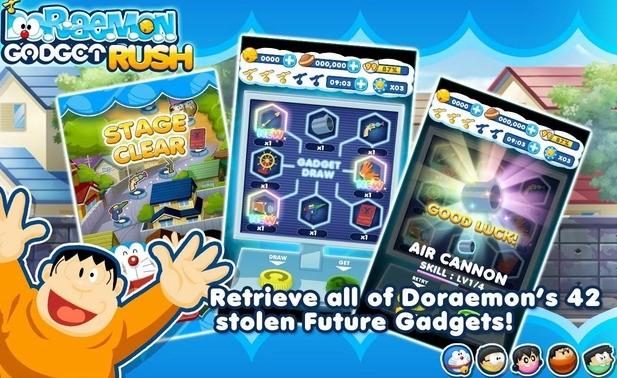 Doraemon Gadget Rush na Androida