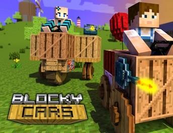 Blocky Cars – Minecraftowe samochodziki są bardziej mobilne
