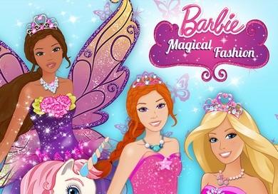 Barbie Magical Fashion – pomóż Barbie ubrać się na bal