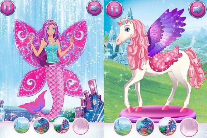 Zmiń Barbie w syrenkę, albo w kucyka pony