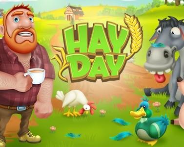 Punkty i poziom reputacji w Hay Day