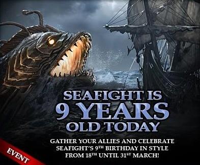 Seafight: 9 urodziny piratów, Typhon i bonusowa nagroda