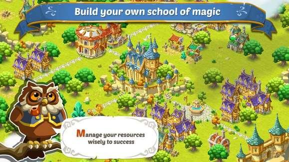 buduj własną szkołę magii