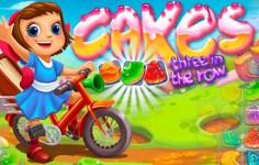 Gra Cakes, dopasuj kolorowe słodkości na Facebooku