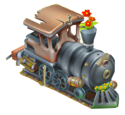 Stacja Kolejowa i Osobisty pociąg w Hay Day