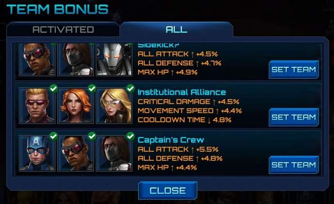 Bonus drużynowy