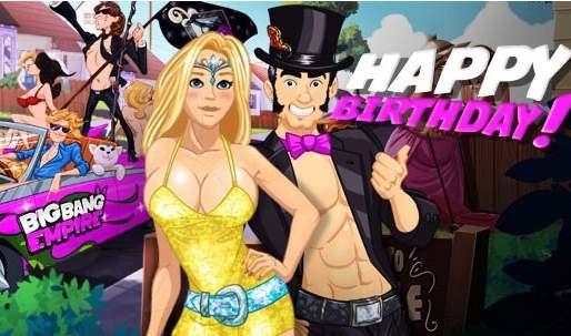 Kod bonusowy z okazji pierwszych urodzin Big Bang Empire