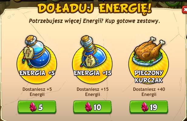 Jak zdobywać darmową energię w grze Skalne Miasteczko (New Rock City)?