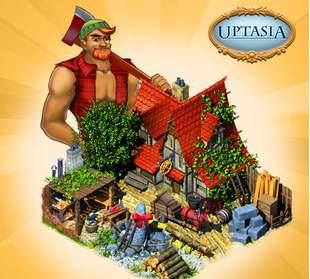 chata drwala w Uptasia