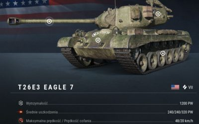 T26E3: Eagle 7, pogromca Pantery wjechał właśnie do świata World of Tanks