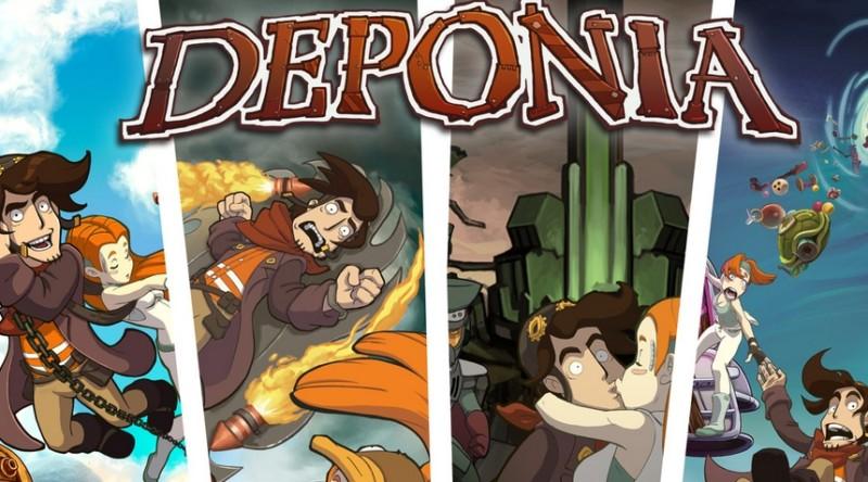 Daedalic Entertainment wydaje przygodówkę Deponia na Nintendo Switch i Xbox One