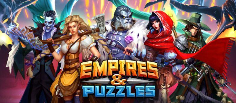 Empires & Puzzles: Zaawansowany Dom i Magazyn