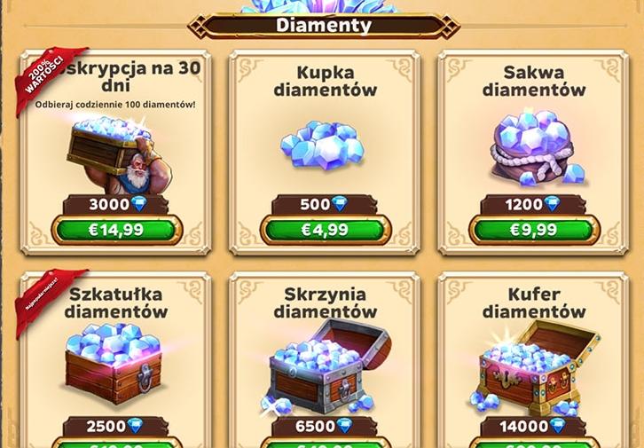Warlords of Aternum: Jak zdobyć diamenty za darmo?