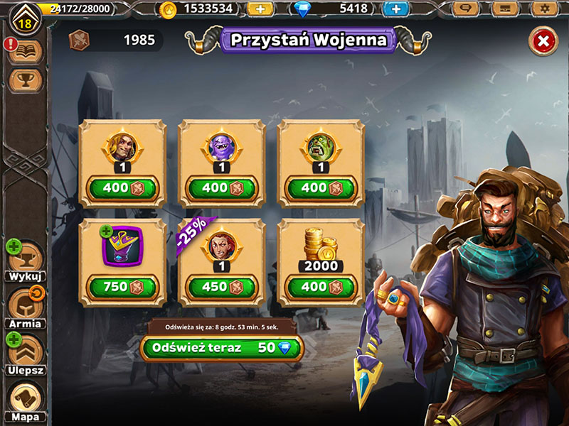 Warlords of Aternum: Jak zdobyć monety wojenne?