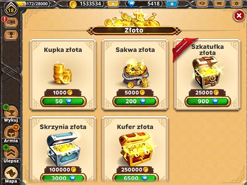 Warlords of Aternum: Jak zdobyć złoto za darmo?