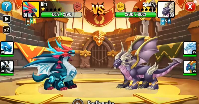 Dragon City: Poradnik o arenie PvP i trofeach