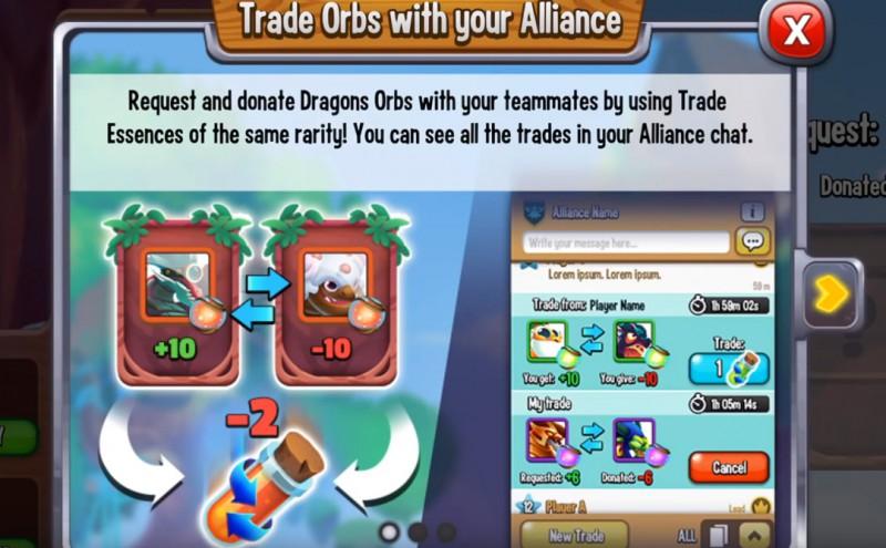 Dragon City: Handel kulami i esencje handlowe