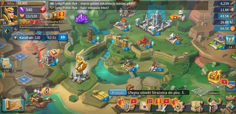 Lords Mobile: Które jednostki najlepiej nadają się do ataku i obrony