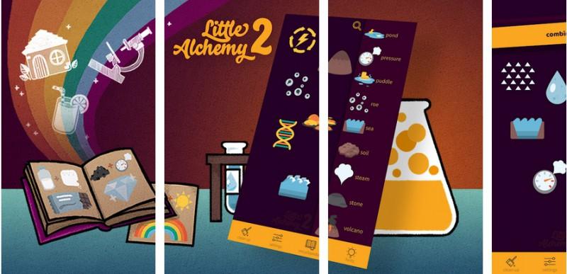 Little Alchemy 2: Lista kombinacji po polsku