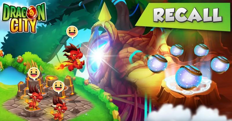 Dragon City: Odwołanie / Odesłanie (Recall) smoków