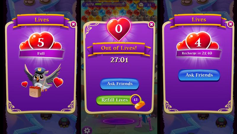 Bubble Witch 3 Saga: Jak zdobyć życia za darmo?
